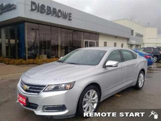 Used 2016 Chevrolet Impala for sale in St. Thomas, ON