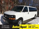 Used 2014 Chevrolet Express LOW, LOW KMS/12 PASSENGER/PRICED FOR A QUICK SALE for sale in Kitchener, ON