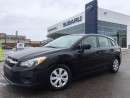 Used 2013 Subaru Impreza 2.0i for sale in Richmond Hill, ON