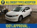 Used 2012 Honda Civic LX*BLUETOOTH HANDSFREE*POWER WINDOWS*ECO MODE* for sale in Cambridge, ON