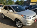 Used 2013 Hyundai Tucson Limited/AWD/1/2LEATHER/ROOFRACK /ALLOWS for sale in Pickering, ON