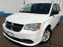 Used 2016 Dodge Grand Caravan SXT *DVD PLAYER* for sale in Kitchener, ON