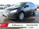 Used 2014 Nissan Sentra Auto, Accident free, low KM's! for sale in Edmonton, AB