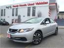 Used 2013 Honda Civic Sedan EX - Sunroof - Alloys - R.Cam for sale in Mississauga, ON
