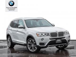 Used 2016 BMW X3 xDrive28i NAVIGATION for sale in Markham, ON