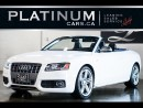 Used 2010 Audi S5 3.0T Cabriolet, AWD, for sale in North York, ON