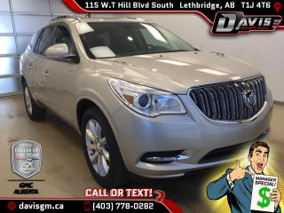 New 2017 Buick Enclave Premium-7 Passenger Seating, Colour Touch Navigation, Heated/Cooled Leather for sale in Lethbridge, AB