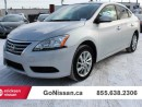 Used 2015 Nissan Sentra SV for sale in Edmonton, AB