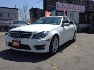 Used 2014 Mercedes-Benz C-Class C300, AWD, NAVI, SUNROOF, BACK-UP CAM, LEATHER for sale in Scarborough, ON