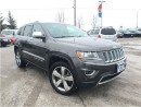 Used 2014 Jeep Grand Cherokee *LIMITED*SUNROOF*NAVIGATION*20 ALLOYS* for sale in Mississauga, ON