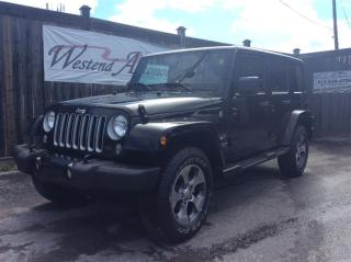Used 2016 Jeep Wrangler Unlimited Sahara  10000 KM for sale in Stittsville, ON