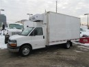 Used 2009 Chevrolet Express 4500 14ft Reefer Aluminum Cube for sale in Richmond Hill, ON