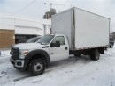Used 2013 Ford F-550 2wd diesel custom 16ft aluminum 96 inch box height for sale in Richmond Hill, ON