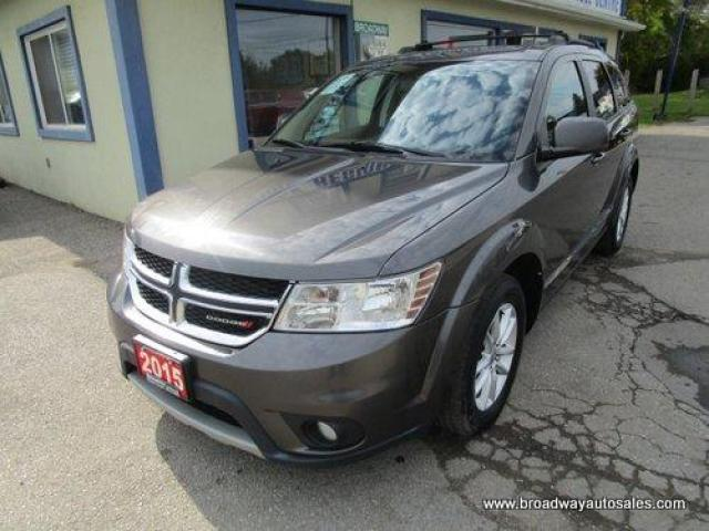 2015 Dodge Journey FAMILY MOVING SXT EDITION 7 PASSENGER 3.6L - VVT.. BENCH & THIRD ROW.. TOUCH SCREEN.. REAR CLIMATE CONTROLS.. CD/AUX/USB INPUT.. KEYLESS ENTRY..