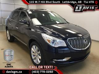 New 2017 Buick Enclave Premium-Colour Touch Navigation, Heated/Cooled Leather, 7 Passenger for sale in Lethbridge, AB