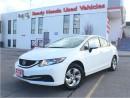 Used 2013 Honda Civic Sedan LX | H.Seats | Keyless | B.Tooth for sale in Mississauga, ON