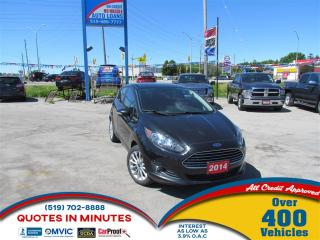 Used 2014 Ford Fiesta SE | NAV | LOW KM's| BLUETOOTH for sale in London, ON