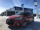 Used 2013 Hyundai Veloster Turbo 6sp Navigation,Leather Sunroof, *MANUAL* Tra for sale in Barrie, ON