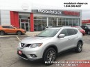 Used 2014 Nissan Rogue SL  - Bluetooth -  leather seats -  power seats - $162.84 B/W for sale in Woodstock, ON