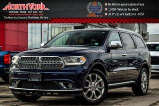 Used 2016 Dodge Durango Citadel|AWD|7Seater|Navi|Sunroof|Backup Cam|Adpt.CruiseCntrl|R-Start|20
