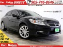 Used 2015 Honda Accord Touring V6| BACK UP CAMERA| SUNROOF| LEATHER| for sale in Burlington, ON