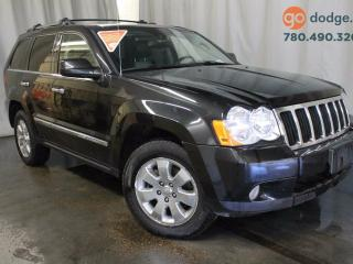 Used 2010 Jeep Grand Cherokee Limited 4x4 / Rear Back Up Camera / Heated 1st and 2nd Row Seats for sale in Edmonton, AB