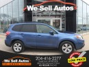 Used 2015 Subaru Forester 2.5I Touring AWD *DUAL MOONROOF *HTD SEATS *BTOOTH for sale in Winnipeg, MB