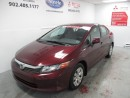 Used 2012 Honda Civic LX for sale in Dartmouth, NS