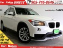 Used 2015 BMW X1 xDrive28i| AWD| PANO ROOF| PUSH START| for sale in Burlington, ON