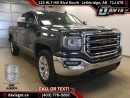 New 2017 GMC Sierra 1500 SLT-Heated/Cooled Leather Bucket Seats, Navigation, Onstar 4G LTE wifi for sale in Lethbridge, AB