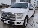 Used 2015 Ford F-150 Platinum 4x4 SuperCrew Cab 5.5 ft. box 145 in. WB for sale in Peace River, AB