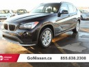 Used 2015 BMW X1 Premium Package, sunroof for sale in Edmonton, AB