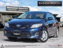 Used 2013 Toyota Corolla POWER GROUP - 1 OWNER|LOADED|WARRANTY for sale in Scarborough, ON