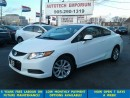 Used 2012 Honda Civic Auto EX Sunroof Prl White&GPS*$39/wkly for sale in Mississauga, ON