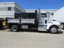 Used 2015 PETERBILT 337 diesel with custom 14ft steel dump and salter for sale in Richmond Hill, ON