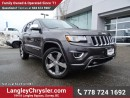 Used 2015 Jeep Grand Cherokee Overland ACCIDENT FREE w/ DUAL HEADREST DVD ENT. & ADVANCED SAFETY FEATURES for sale in Surrey, BC