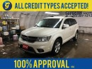 Used 2012 Dodge Journey SXT*KEYLESS ENTRY W/REMOTE START*BLUETOOTH PHONE/AUDIO*ROOF RACK*AUTO DIMMING MIRROR*POWER WINDOWS/LOCKS*POWER HEATED MIRRORS*DUAL ZONE CLIMATE CONTROL*ALLOY WHEELS*FOG LAMPS* for sale in Cambridge, ON