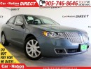 Used 2011 Lincoln MKZ | LEATHER| BACK UP SENSORS| POWER SEATS| for sale in Burlington, ON