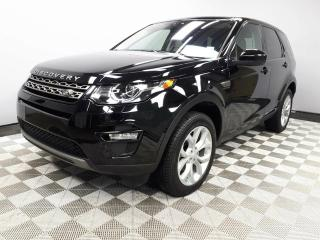 Used 2017 Land Rover Discovery Sport SE - 4yr/80000kms manufacturer warranty included until April 30, 2021! | Locally Owned and Driven | Executive Demo | 3M Protection Applied | Navigation | Back Up Camera | Parking Sensors | Xenon Headlamps | Heated Windshield with Rain Sensing Wipers for sale in Edmonton, AB