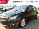 Used 2013 Chevrolet Cruze LTZ Turbo RS Package for sale in Edmonton, AB