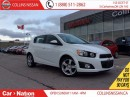 Used 2015 Chevrolet Sonic LT | ALLOYS | SUNROOF | FOG LIGHTS | WARRANTY for sale in St Catharines, ON