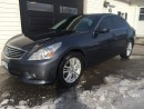 Used 2012 Infiniti G37X  Luxury for sale in Kingston, ON