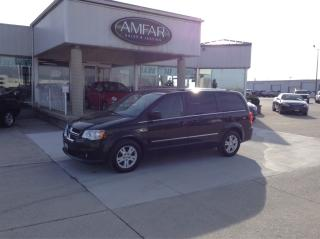 Used 2014 Dodge Grand Caravan Crew / STOW N GO / NO PAYMENTS FOR 6 MONTHS !!! for sale in Tilbury, ON