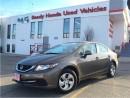 Used 2013 Honda Civic Sedan LX | H.Seats | Keyless for sale in Mississauga, ON