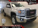 New 2017 GMC Sierra 2500 HD SLE-40/20/40 heated Split Bench Seat, Rear Vision Camera, Z71 Off Road Suspension for sale in Lethbridge, AB