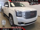 Used 2015 GMC Yukon Denali-7 Passenger, Heated/Cooled leather, rear DVD, Navigation for sale in Lethbridge, AB