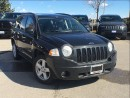 Used 2008 Jeep Compass *NORTH*AIR COND*POWER WINDOWS*POWER LOCKS*ALLOY WH for sale in Mississauga, ON