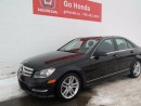 Used 2013 Mercedes-Benz C-Class C300, V6, AWD, LEATHER for sale in Edmonton, AB