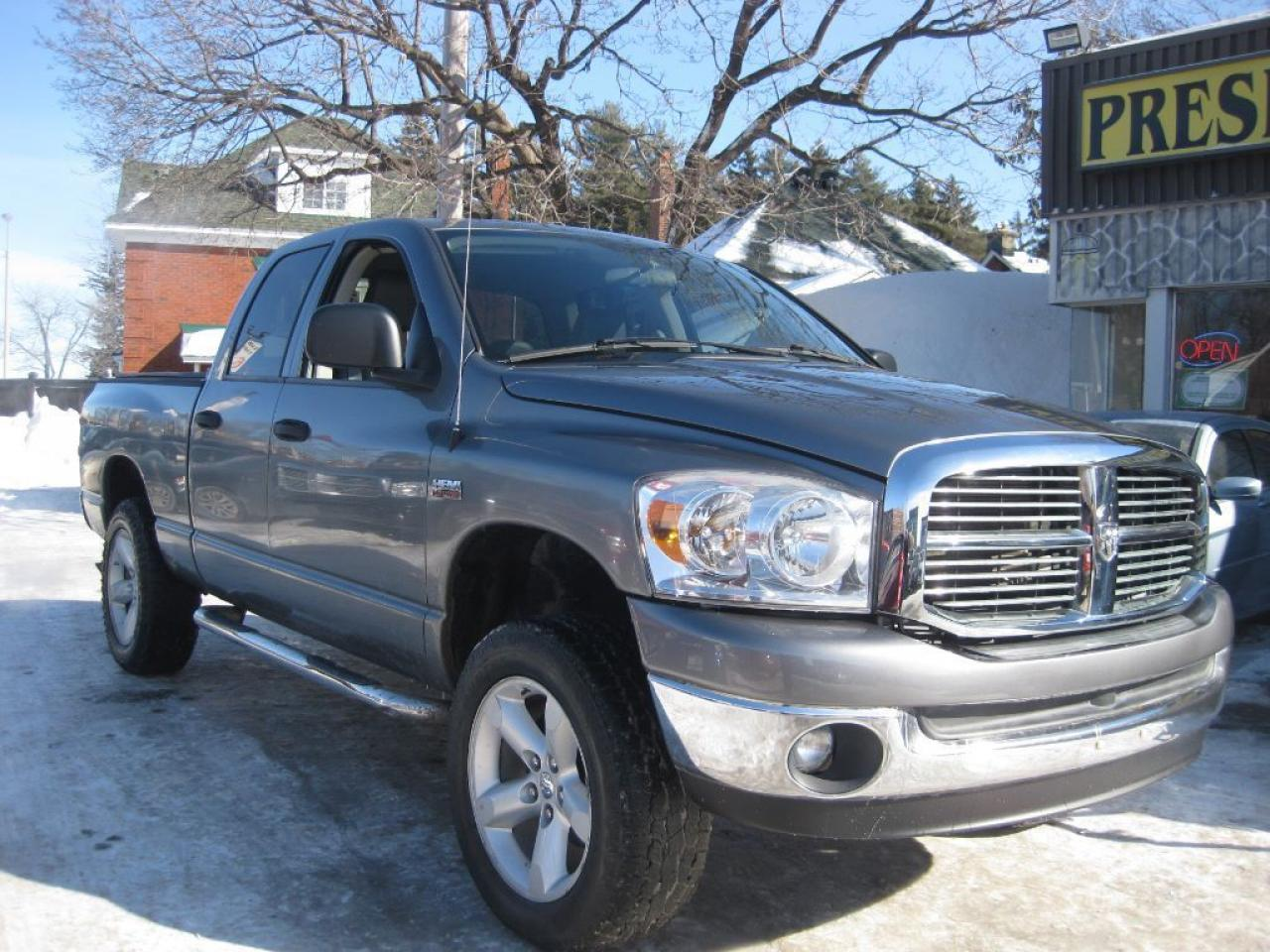 2008 Dodge Ram 1500 Laramie, 4x4 leather,p/w p/l a/c.keyless,mp3 input