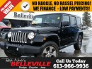 Used 2016 Jeep Wrangler Unlimited Sahara-Navigation-Bluetooth for sale in Belleville, ON